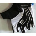 eldiven sedona siyah beyaz large