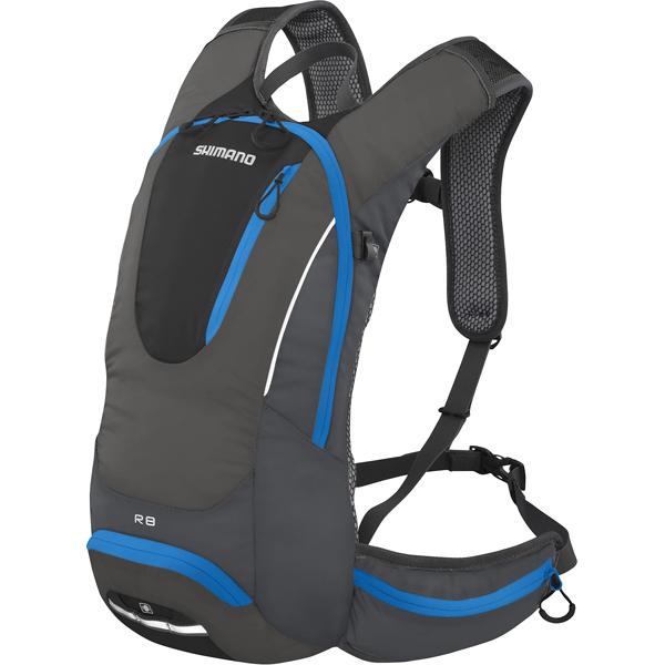 Shimano Çanta Rokko 8 Allround Sırt çantası Siyah / L. Mavi