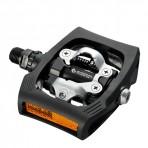 Pedallar PD-T400 CLICK'R Siyah W/Reflektör W/Pedal Kiliti(SM-